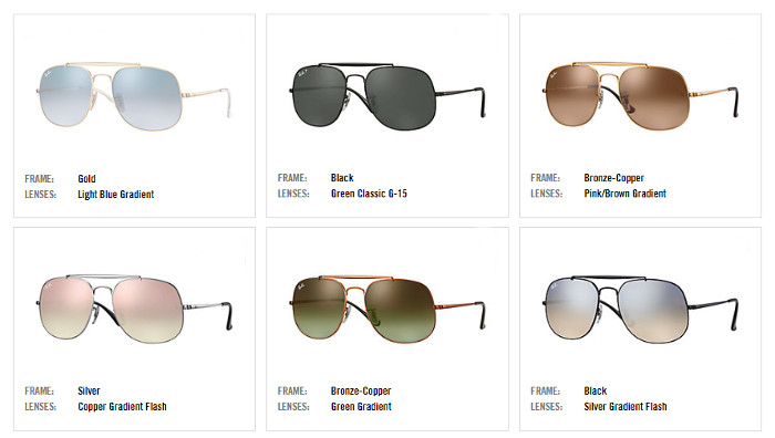 Ray Ban Remasters The Classic Aviator With The General