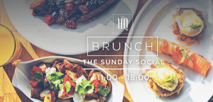 HQ Social Sunday Brunch
