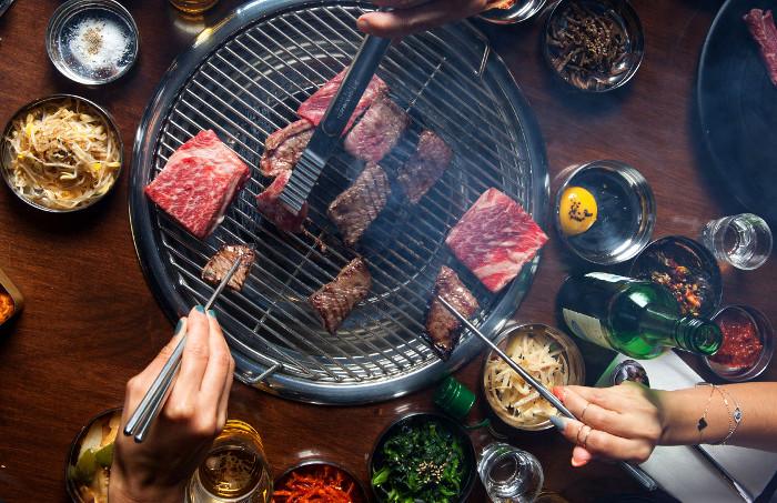 Korean barbecue socialite