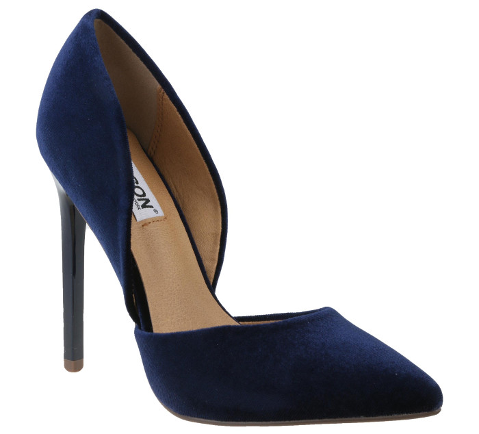 Madison's Leah High Heel Velvet Blue