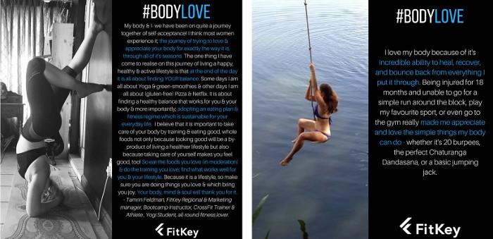 FitKey Body Love Campaign