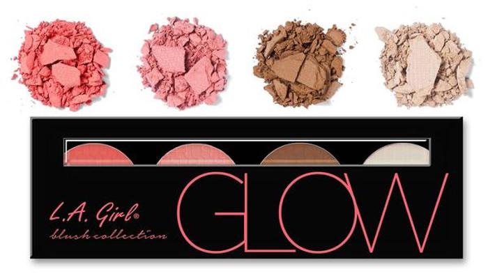 L.A Girl Beauty Brick Blush Collection