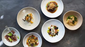 Makaron Small Plates Menu