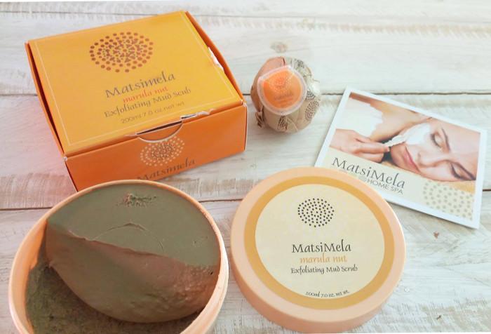 Matsimela Spa Marula Nut Exfoliating Mud Scrub