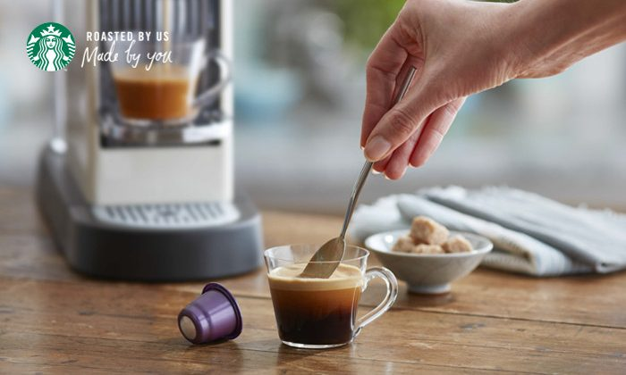 Starbucks Launches New Espresso Capsules