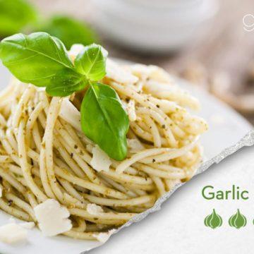 Parmesan, Basil and Garlic Spaghetti