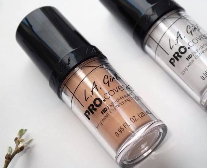 L.A. Girl LA Girl Pro Coverage HD Illuminating Foundation