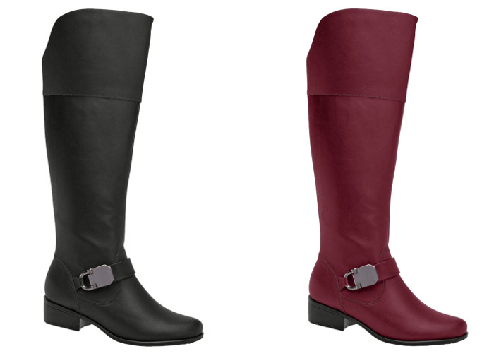 Piccadilly Low Heel Knee-High Boots