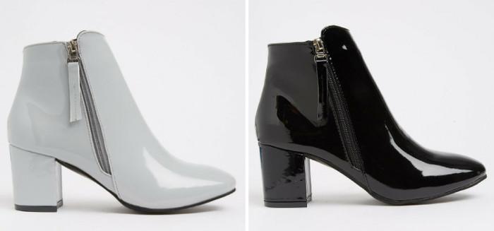 Clare Black Jada Block Heel
