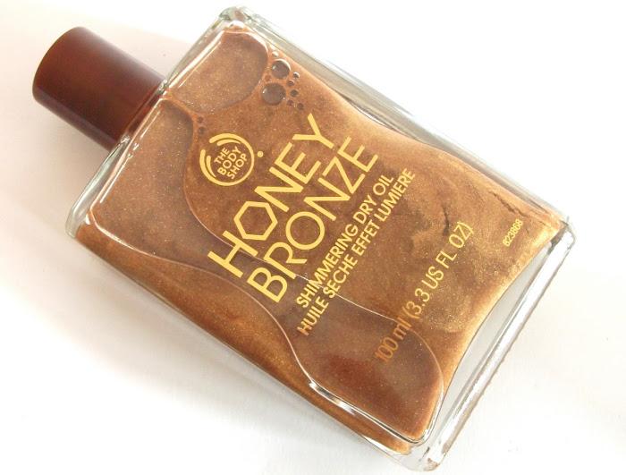Body Shop Honey Bronze Shimmering Dry Oil