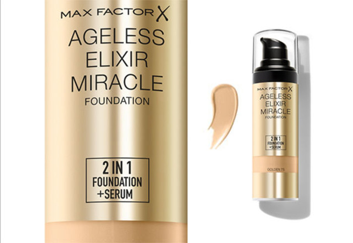 Max Factor's Ageless Elixir Miracle 2-in-1 Foundation + Serum