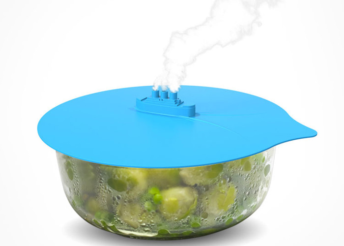 "Thingamajig Silicone Pot Lid ""Steamer"""