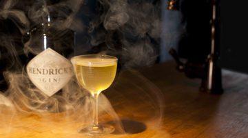 Hendrick's Gin cocktail