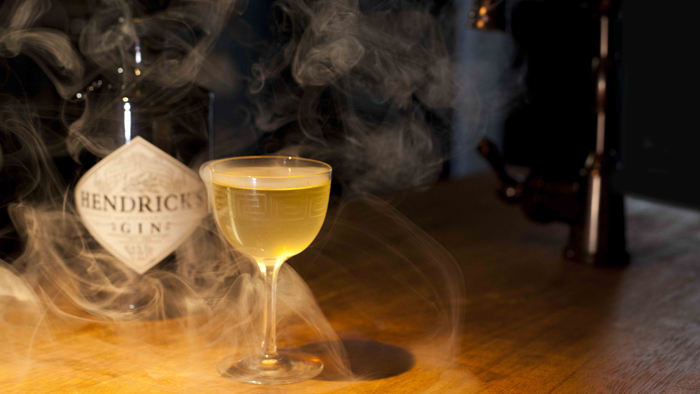 Hendrick's Gin cocktail