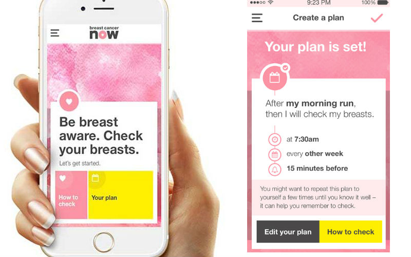 breast check now app