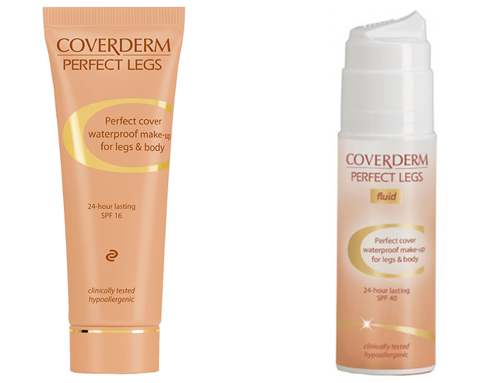 Coverderm Perfect Legs and Perfect Legs Fluid