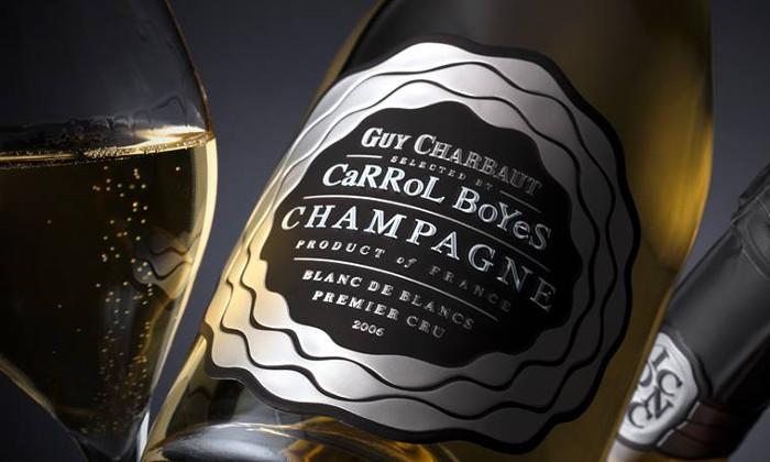 arrol Boyes Champagne Premier Cru Blanc de Blancs 2006.