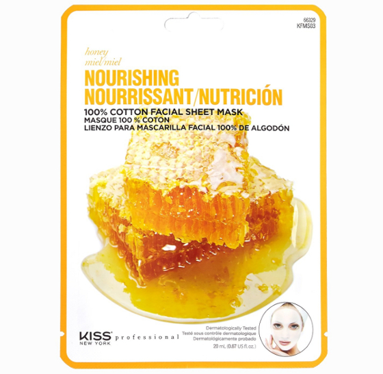 Kiss New York Professional Honey Nourishing Facial Mask