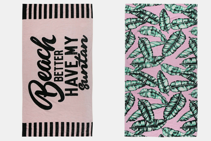 MRP Novelty Beach Towels