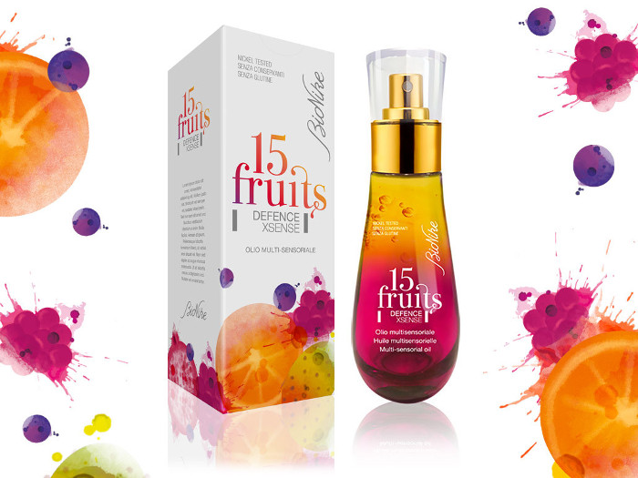 Bionike 15 Fruit Xsense Multi-Sensorial Oil