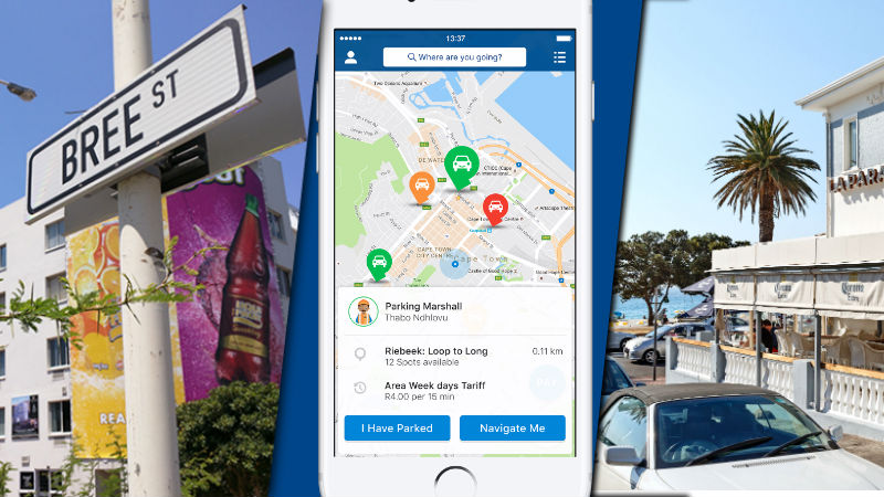 Parkfind app