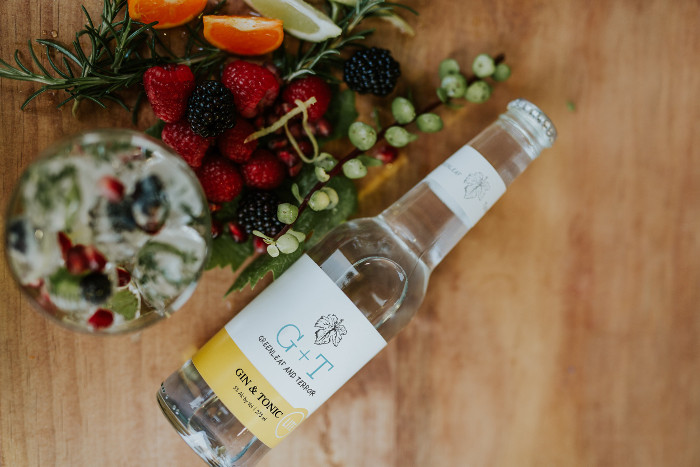 Greenleaf & Terroir pre-mixed gin and tonic