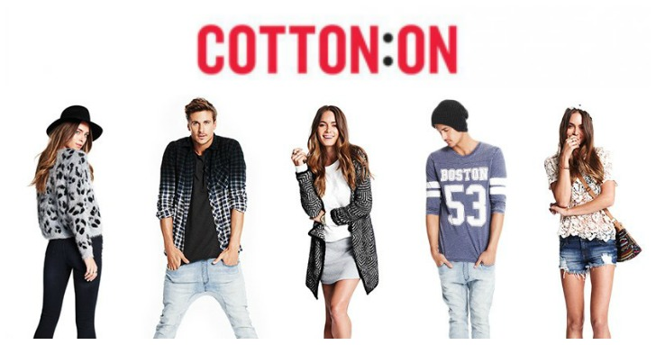 Cotton On online shopping