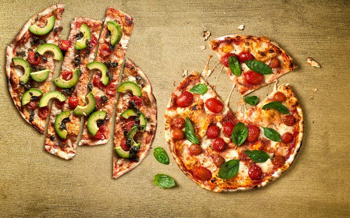 Col Cacchio vegan pizza