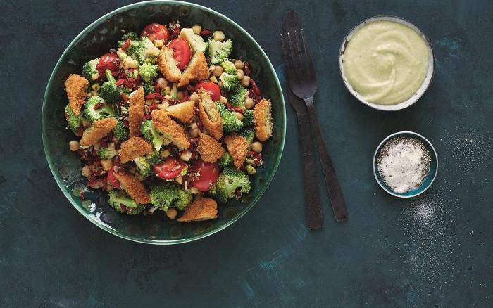 Raw Broccoli Superfood Salad