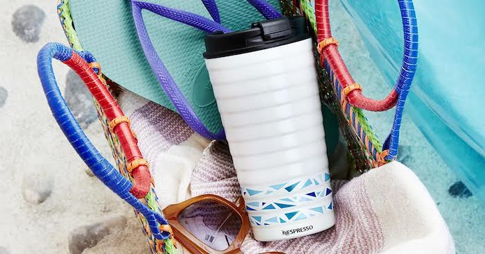 Nespresso travel mug