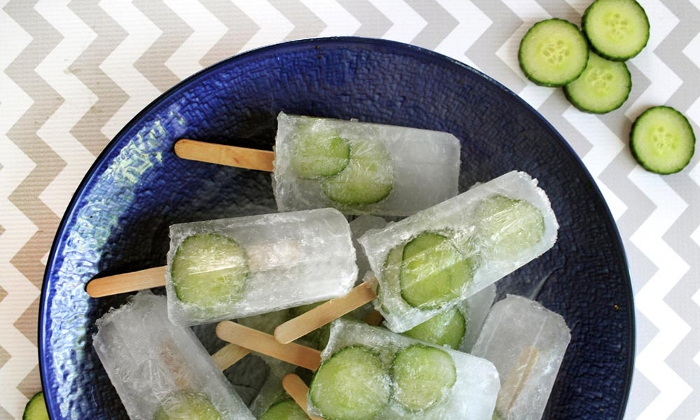 gin and tonic Popsicle