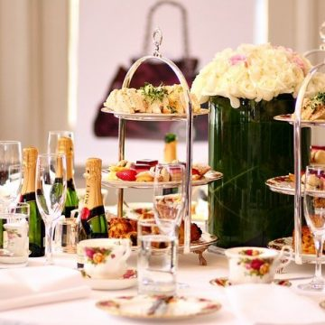 boozy high tea and pairing feature