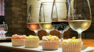 delheim cupcake and wine