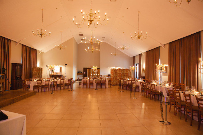 Wedding hall at Rustig