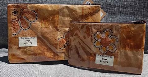 gracious dube teabag purse