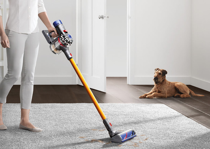 Dyson V8 Absolute cord-free vacuum.