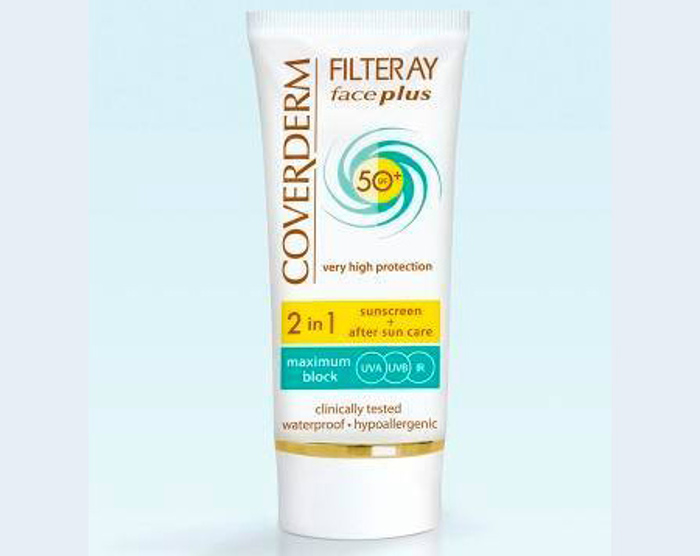 Coverderm Filteray Face Plus SPF50+ Tinted Cream