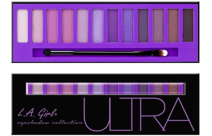 la girl eyeshadow palette ultra pantone