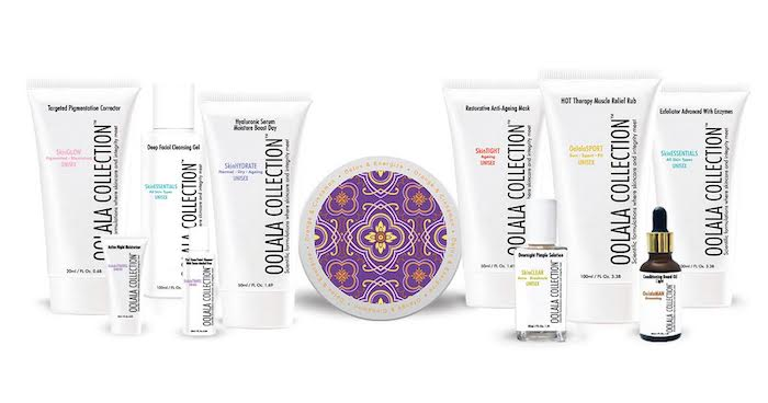 oolala collection skincare feature