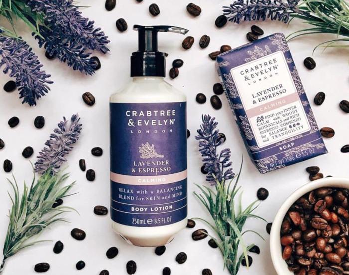 Crabtree & Evelyn Lavender & Espresso Calming