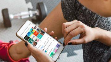 Google Podcast app gym