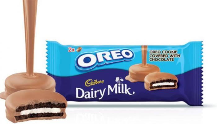 Oreo Covered in Cadbury Dairy Milk