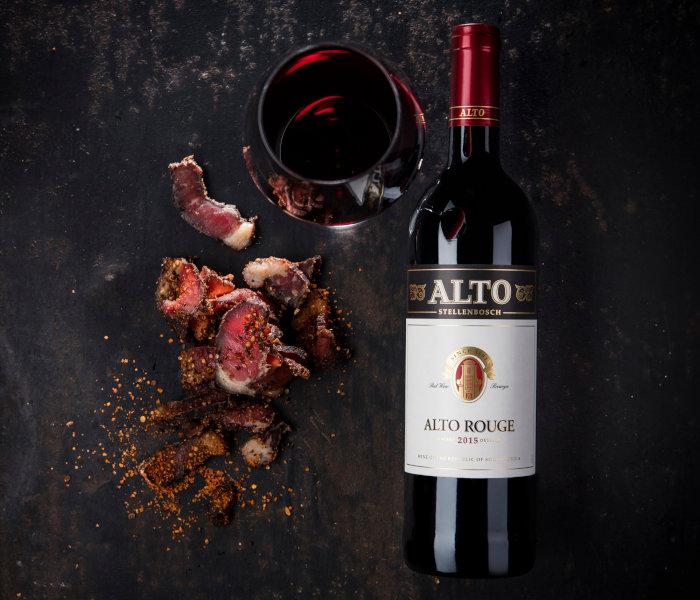 Alto Wine & Biltong Tasting
