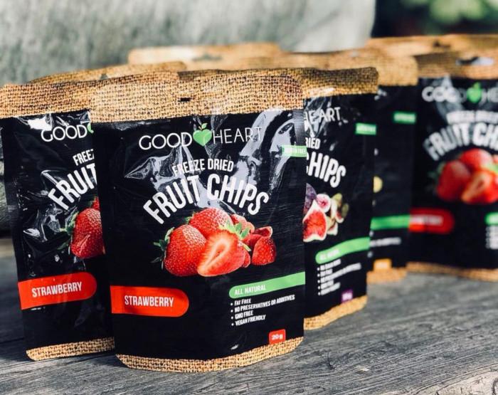 Good Heart Freeze Dried Fruit Chips