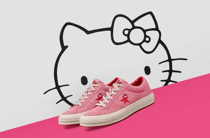 Converse x Hello Kitty