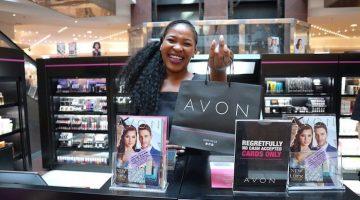 Avon pop-up store