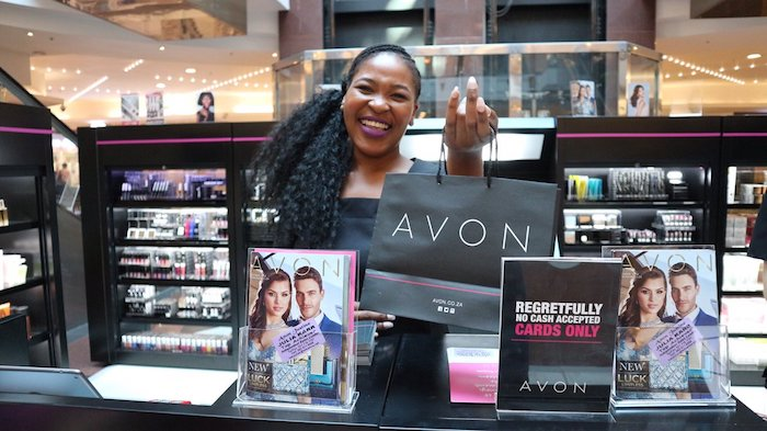 Avon pop-up store