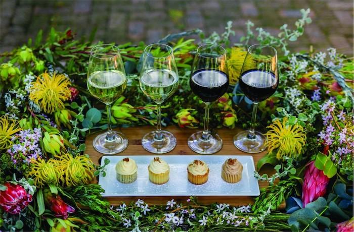 Delheim wine & fynbos pairing