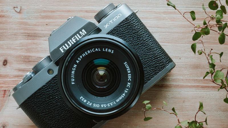Fujifilm cam header