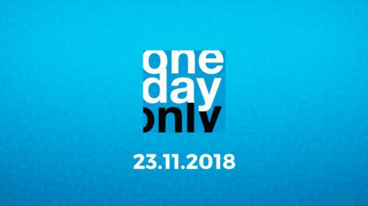 OneDayOnly Black Friday header